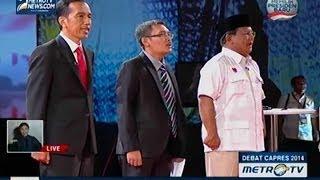 [Debat Capres 2014] Pembangunan Ekonomi dan Kesejahteraan Sosial (1)