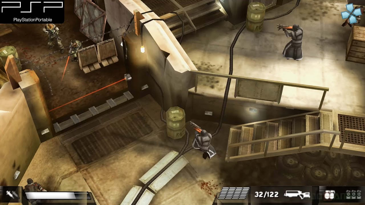 demo killzone liberation psp