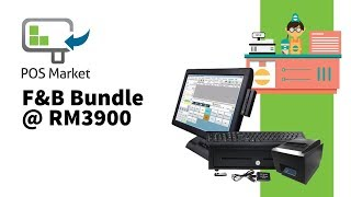 Bizcloud pos all-in-one f&b bundle. get the best system in market for an affordable price, which includes both hardware and softwa...