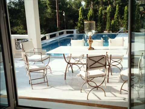 Μεταλλικά Τραπέζια Κήπου - Έπιπλα Εξωτερικού χώρου