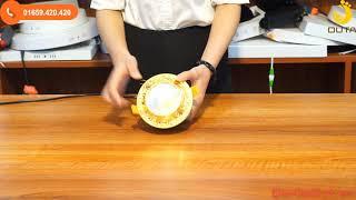 Bộ đèn led âm trần mặt hoa văn vàng đơn màu có công suất 5w và 7w