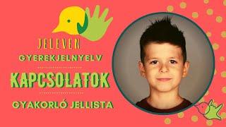 Jeleven online - GYAKORLÓ JELLISTA - TALÁLD KI! - Kapcsolatok témakör 6.
