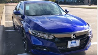 More Fun With A Turbo!---2018 Honda Accord Sport(1.5 Turbo)Review