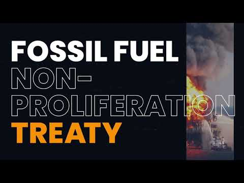 Introducing the Fossil Fuel Non-Proliferation Treaty