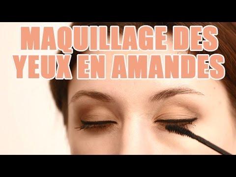 Super Tuto maquillage pour les femmes avec les yeux en Amandes - YouTube RZ65