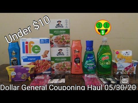 Dollar General Couponing Haul 05/30/20