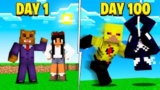 I Survived 100 Days As A Super Villain In Minecraft (Here&#39s What Happened)