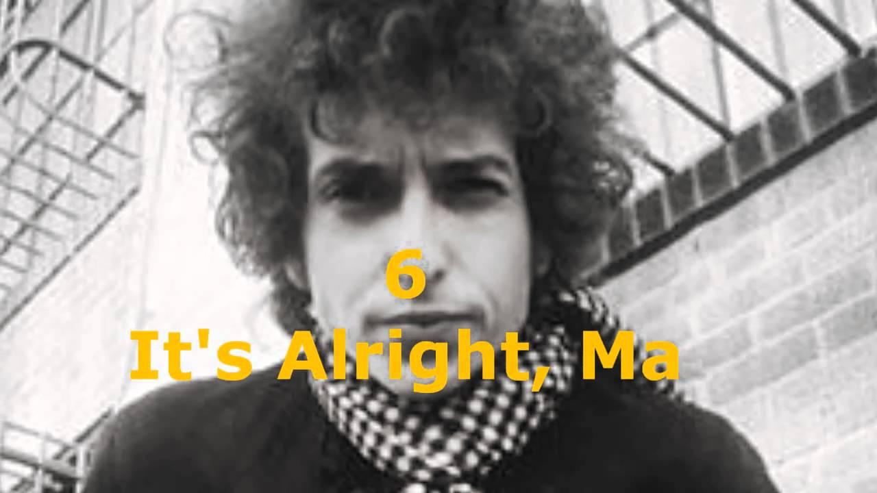 dcba0e7d87 Top 10 Bob Dylan Songs - YouTube