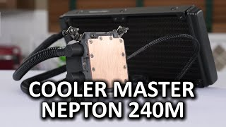 Cooler Master Nepton 240M CPU Liquid Cooler