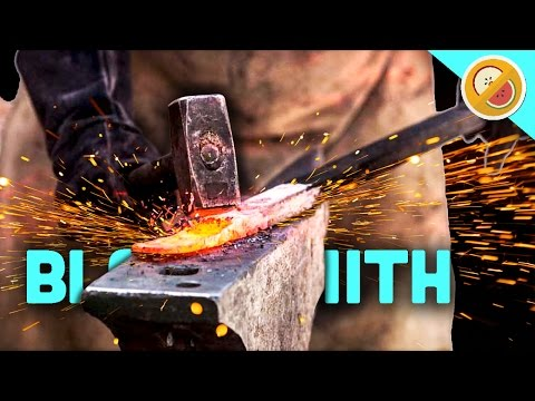 COME GET YER WEAPONS! | My Little Blacksmith Shop