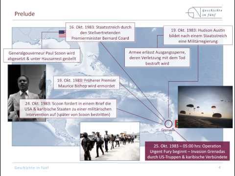 Die US-Invasion in Grenada (1983)