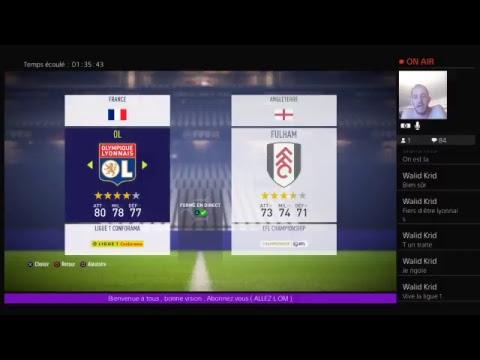 Lyon Vs Fulham / Amical / Match En Direct