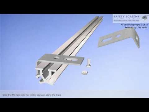 How to Install a Soffit Fit Bolt-on PVC Strip Curtain