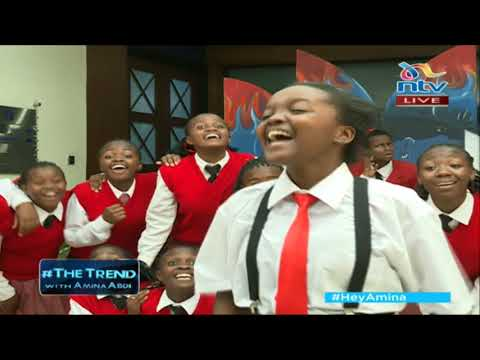 Moi Girls Nairobi Drama Club performs skit on The Trend