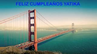 Yatika   Landmarks & Lugares Famosos - Happy Birthday