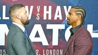 Tony Bellew vs David Haye REMATCH - FACE OFF
