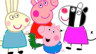 Itsy Artist - How To Draw Characters From The Peppa Pig Episodes - Compilation