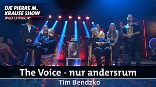 """The Voice – nur andersrum"" mit Tim Bendzko"