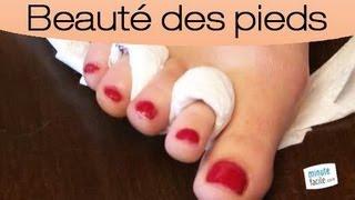 Comment mettre du vernis à ongles sur les pieds ?