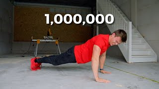 This is What 1,000,000 Push ups (in a row) Look Like