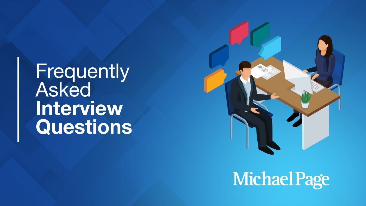 18 common interview questions | Michael Page