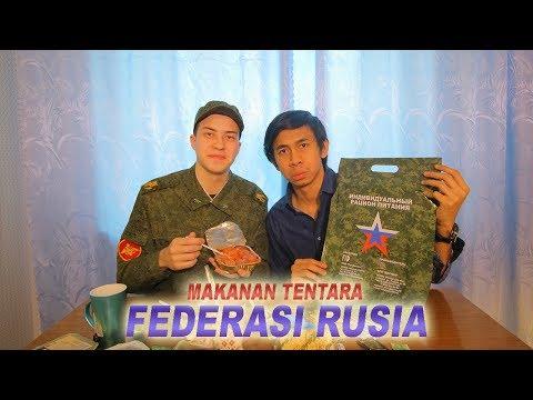 Mencoba Makanan Tentara Rusia - Russian Military MRE