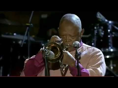 Stimela | Jazz Day 2013 - Hugh Masekela | John Beasley (piano), Terri Lyne Carrington (drums), Herbie Hancock (keyboard), Marcus Miller (bass), Lee Ritenour (guitar), Pedrito Martinez (percussion)