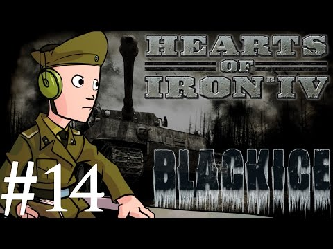 Hearts of Iron 4 | Black ICE mod | German Reich | Part 14 | One Front War