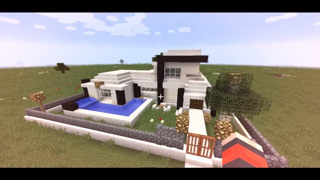 Cara Membuat Rumah Modern Di minecraft - Minecraft