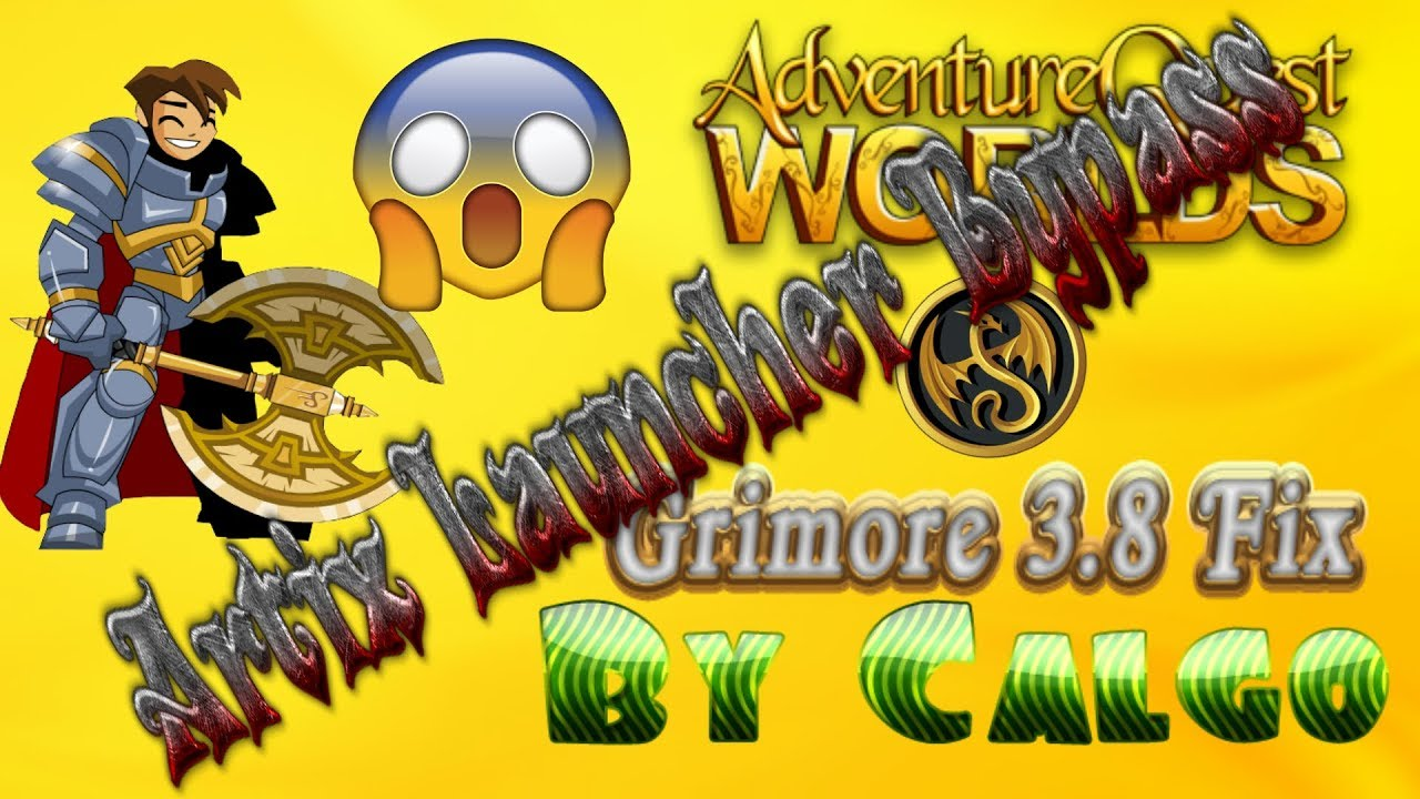 AQW Grimore 3 8 New Version July 2018 (Fixed From Artix Launcher Patch) By  Calgo
