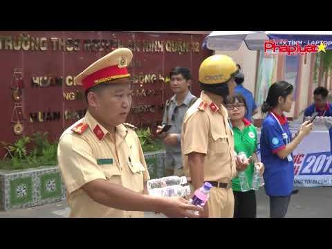 CSGT ra quân chống kẹt xe kỳ thi THPT quốc gia 2019 tại TPHCM