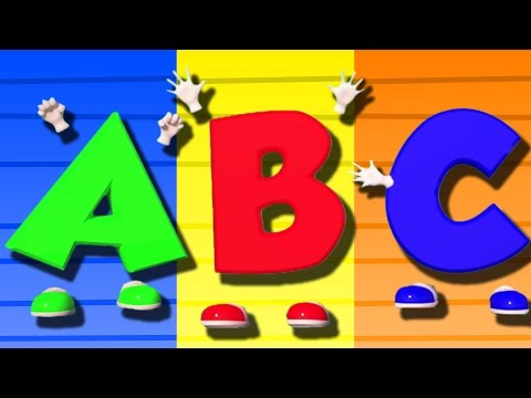 ABC Lagu Bhs Inggris | 3D Pendidikan Video | 3D Educational Video For Kids | ABC Song In English