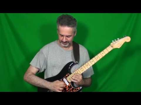 BB KING's solo on THAT EVIL CHILD played by MARCELLO ZAPPATORE