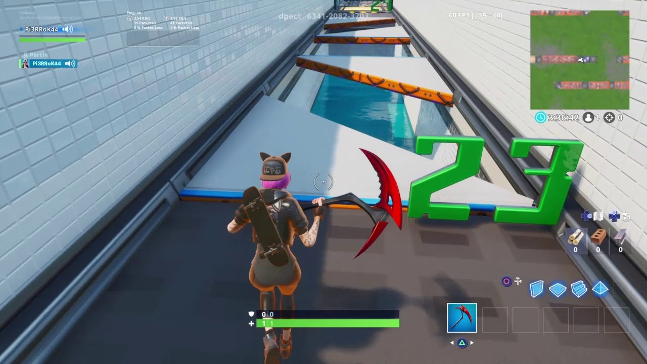 Playing The Pewdiepie Deathrun In Fortnite Youtube Ballersinfo Com