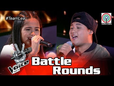 The Voice Teens Philippines Battle Round: Felipe vs Mia - Killing Me Softly