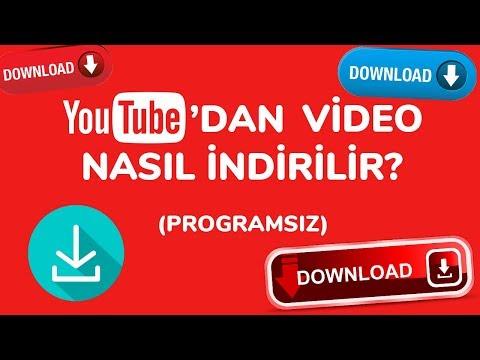 Youtube'dan Video Nasıl İndirilir? (Programsız)