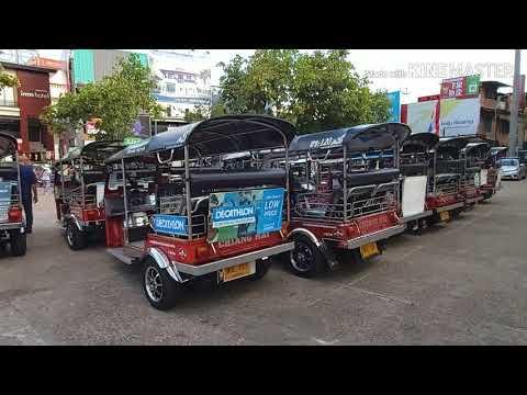 พาชมรถ E-Taxi (รถตุ๊กตุ๊กไฟฟ้า พลังงานสะอาด) เชียงใหม่