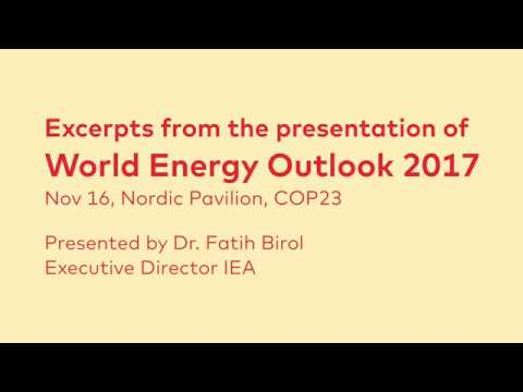 World Energy Outlook 2017