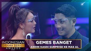 Gemes Banget Mas Al dan Mba Andin Saling Kasih Surprise | INDONESIAN DRAMA SERIES AWARDS 2021