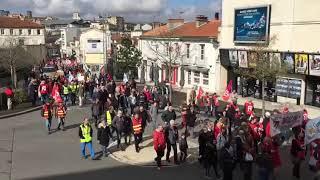 Manifestation Angoulême 19 mars