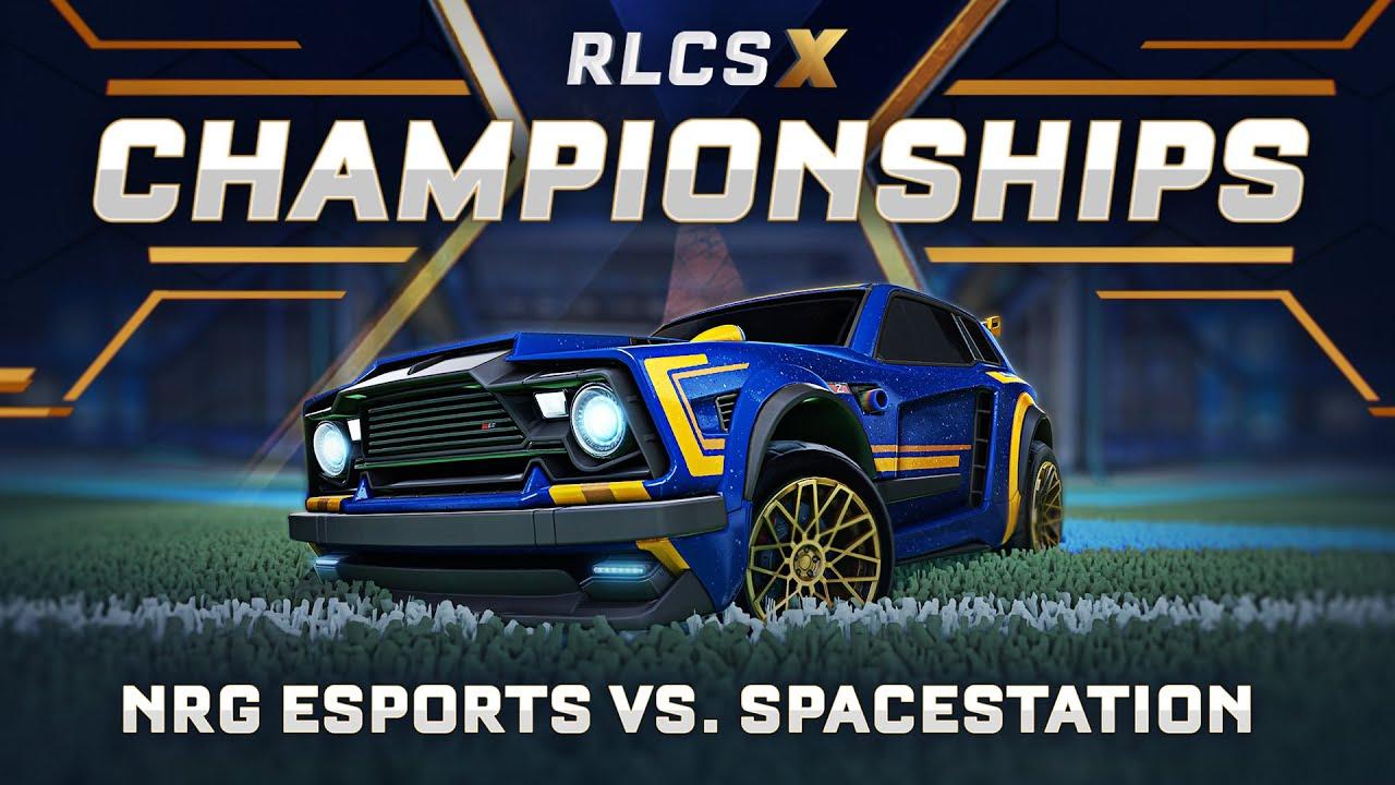 NRG Esports vs. Spacestation Gaming | NA RLCS X Championship | Grand Finals