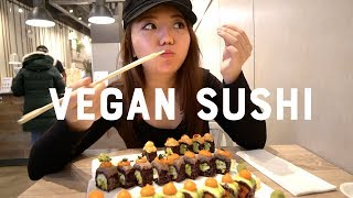 I Try VEGAN SUSHI