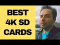 Best SD Memory Card for 4K Video Recording + Best SD Card Case Review