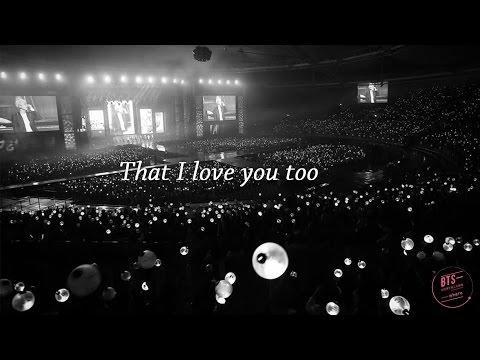 [방탄소년단/BTS] 알아요/I Know By RM&JK (繁體中字)