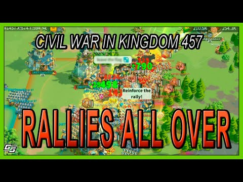 CIVIL WAR IN 457 - A COUNCIL BEING OVERTHROWN - Rise Of Kingdoms