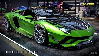 Need for Speed Heat - Lamborghini Aventador S Roadster 2017 - Customize | Tuning Car HD