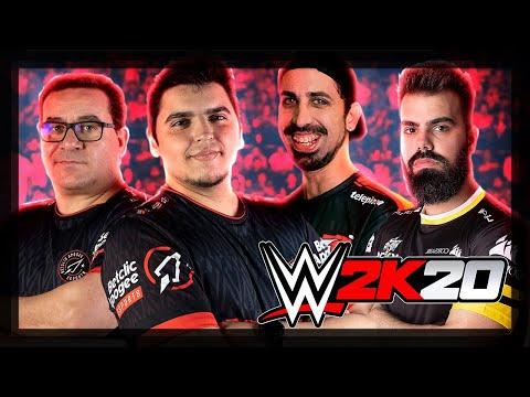 YOUTUBERS INVADEM OS RINGUES #3 | WWE 2K20