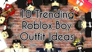 10 Trending Roblox Boy Outfit Ideas | Roblox Lookbook