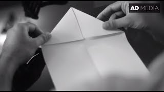 HOW TO MAKE A PAPER PLANE | BEST PAPER PLANE | NOSTALGIC | ONE MINUTE