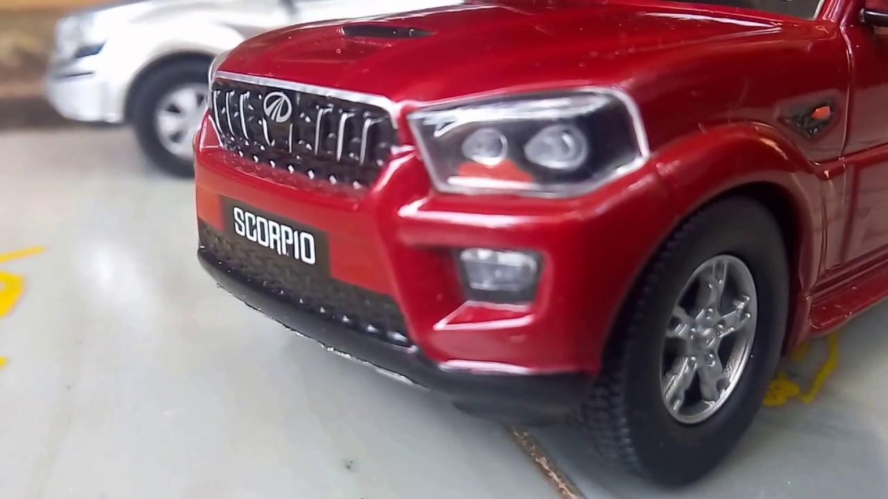 My New Toys Scorpio Scale Model Xuv500 Scale Model Happy New
